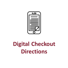 Digital Checkout Directions