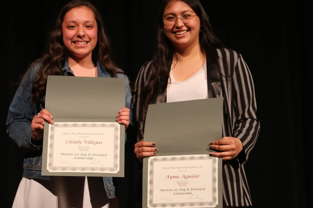2018-2019 Morton 201 Foundation Pay it Forward Scholarship Winners