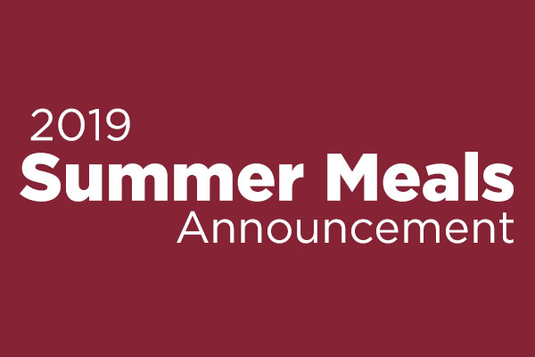 Summer Meals Announcement